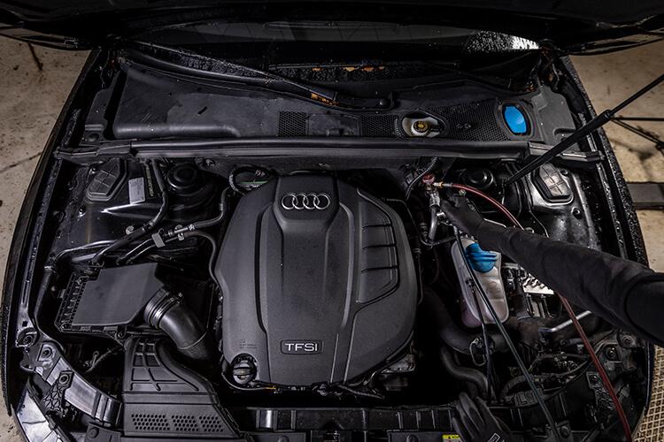 Audin ilmastointihuolto